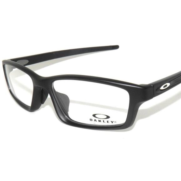 436661d5b69 ... coupon for oakley crosslink pitch 8041 20 56 black eyeglasses 1edb6  87d86